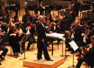 Conducting the Miami Symphony Orchestra (Miami, 2007)