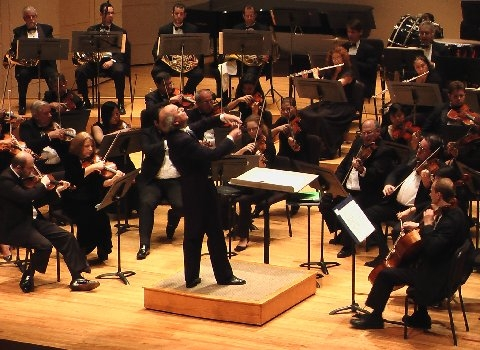 Conducting the Miami Symphony Orchestra (Miami, 2007)