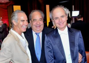 With Donald Pliner and Alfredo Beracasa at MISO 2010 Gala (Miami, 2010)