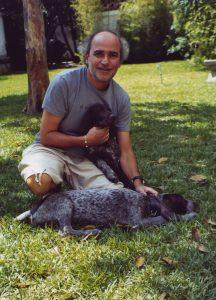 At home with Gaia & Zeus (Caracas, 2004)