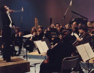 Concert with the Orquesta Filarmónica de Caracas (Caracas, 1979)