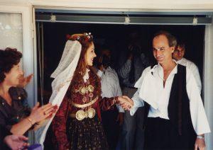 Orthodox wedding to Athina (Greece, 1995)