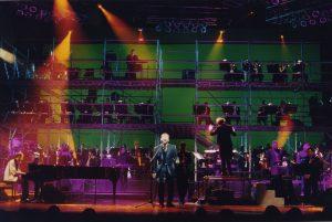 Pop concert with Ricardo Montaner (Caracas, 2000)