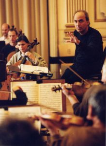 Recording with the Berliner Symphoniker at the Siemens Villa (Berlin, 2000)