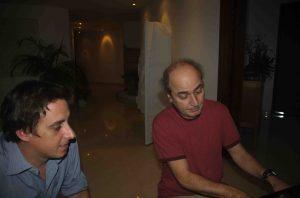 Pop artist Roque Valero gets a piano lesson! (2007)