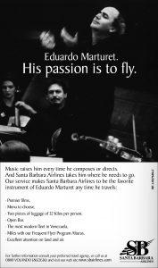 Santa Barbara Airlines Advertisement (2007)