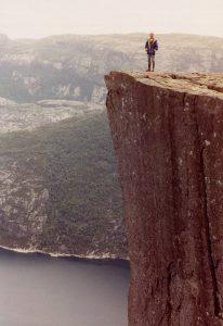 Conquering heights! (Stavanger, 1989)