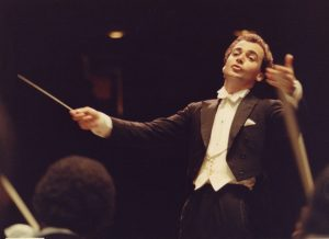 Concert with the Orquesta Filarmónica de Caracas (Caracas, 1982)