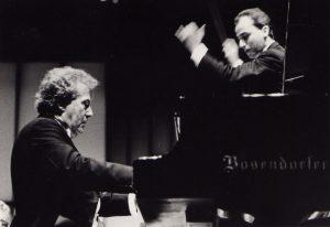 With Aldo Ciccolini playing Rachmaninoff No. 2 (Caracas, 1988)