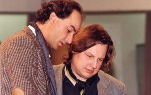 With recording engineer and producer Christian Feldgen (Berlin, 1994)