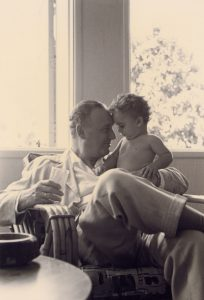 With Grand Father (Caracas, 1955)