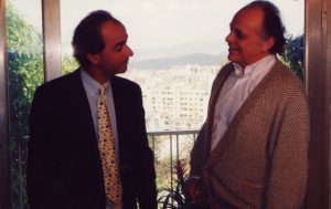 With Lorin Maazel (Caracas, 1985)