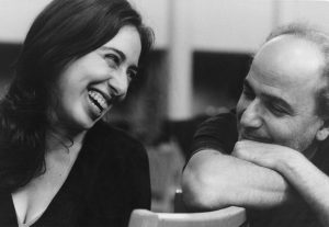 Recording with Vanessa Perez prior to our Berliner Symphoniker Latin America tour (2001)